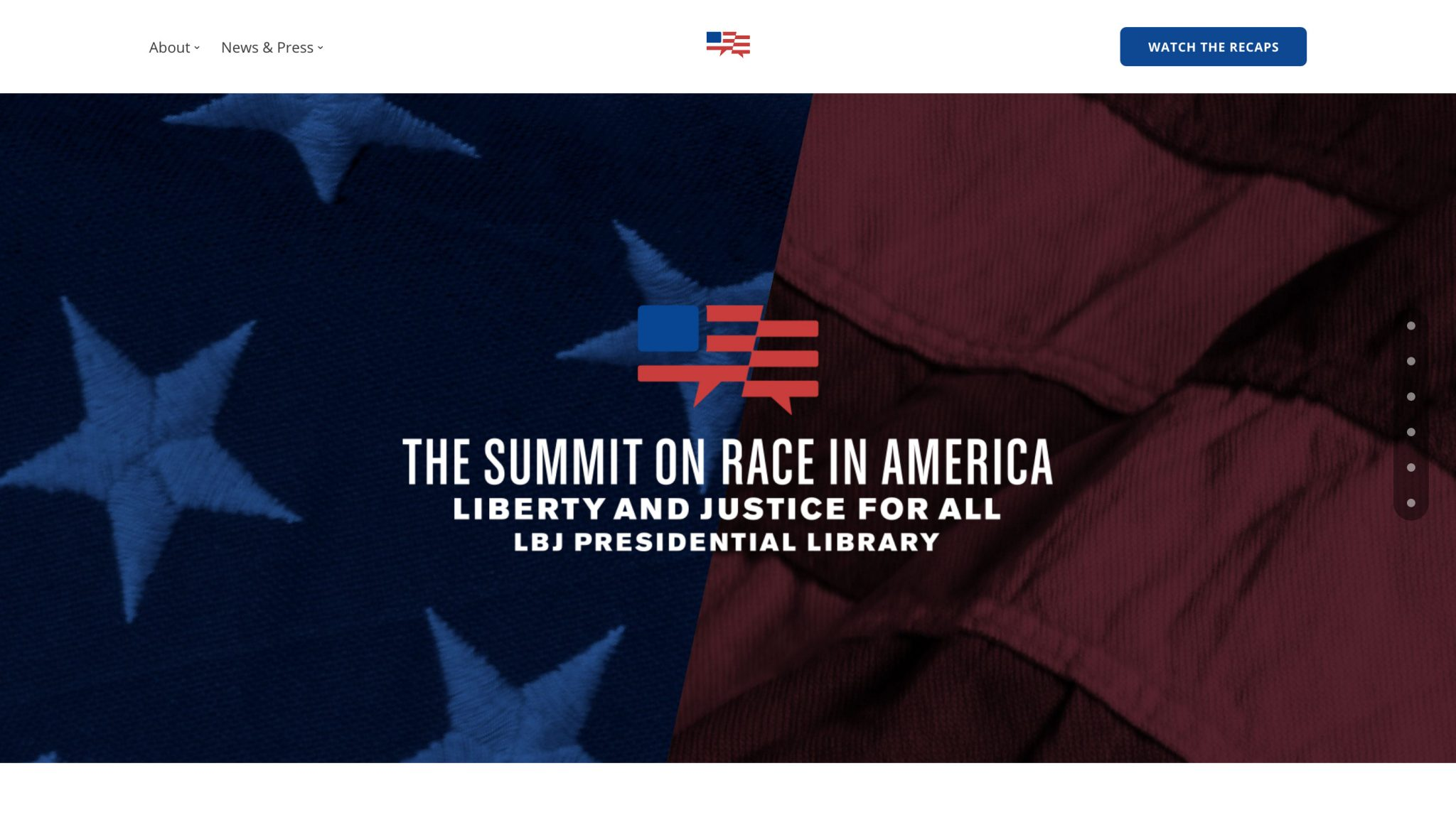 Summit on Race in America screenshot